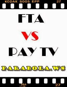 PARABOLA FTA VS PAY TV