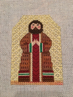 carol dupree needlepoint nativity joseph