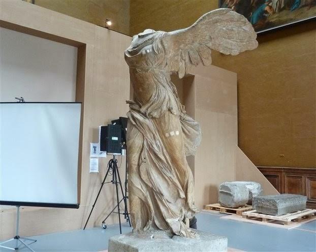 Louvre raises €500,000 to restore Nike of Samothrace