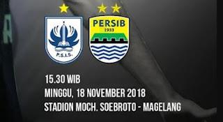 Susunan Pemain PSIS Semarang vs Persib Bandung