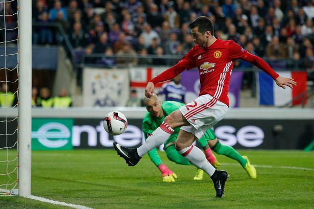 Manchester United -Henrikh Mkhitaryan scores first-goal