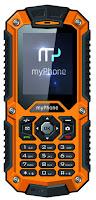 Telefon myPhone Hammer pomarańczowy z Biedronki