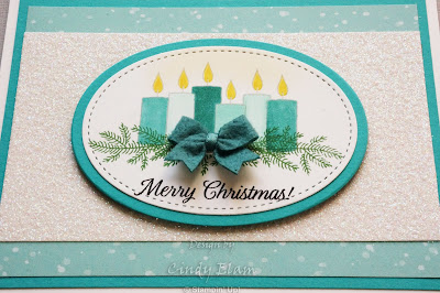 Merry Patterns, Stampin' Up!, Christmas card, CAS