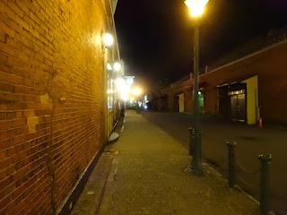 夜の金森赤レンガ倉庫