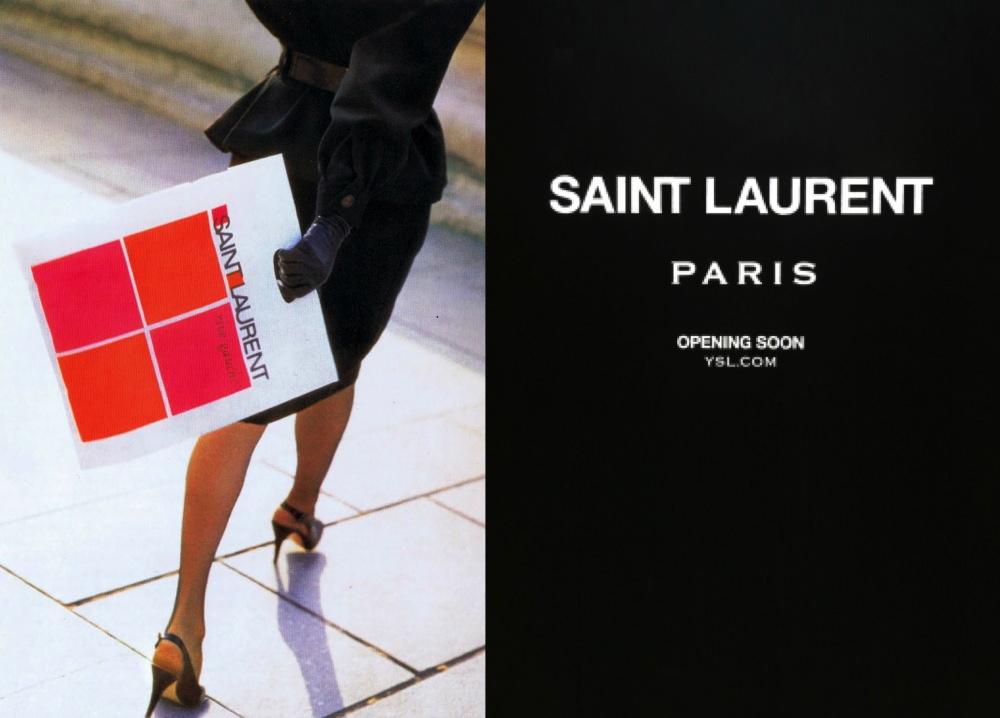 INTO THE FASHION: INSPIRATION Saint Laurent Rive Gauche 1966