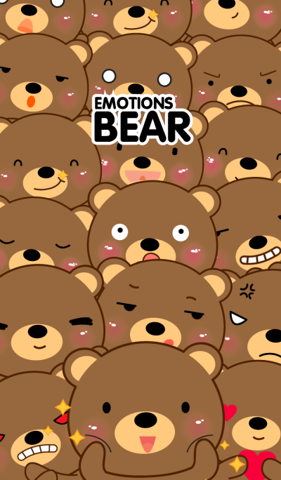 Simple Emotions Brown Bear Theme