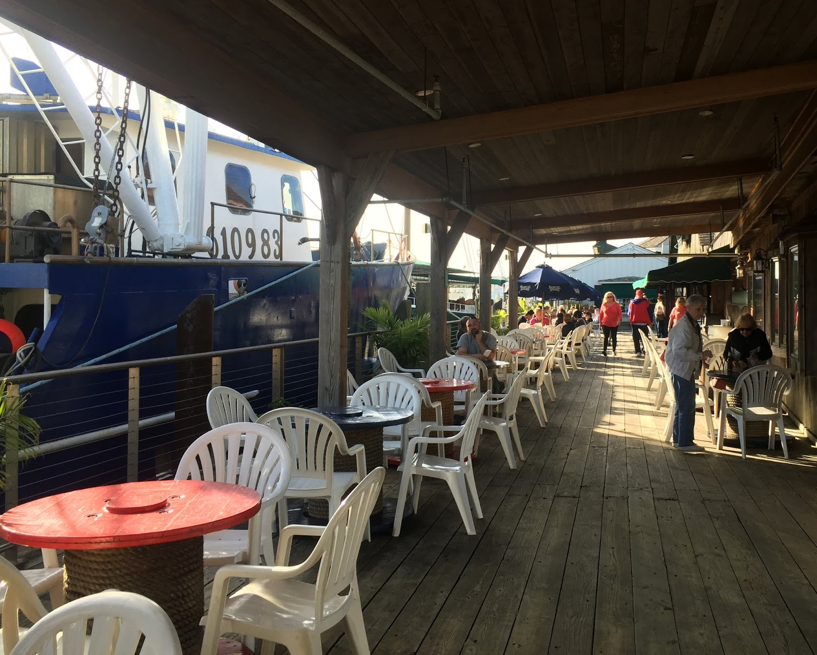 My Paisley World: Dockside Lunch at The Lobster House, Cape May, NJ