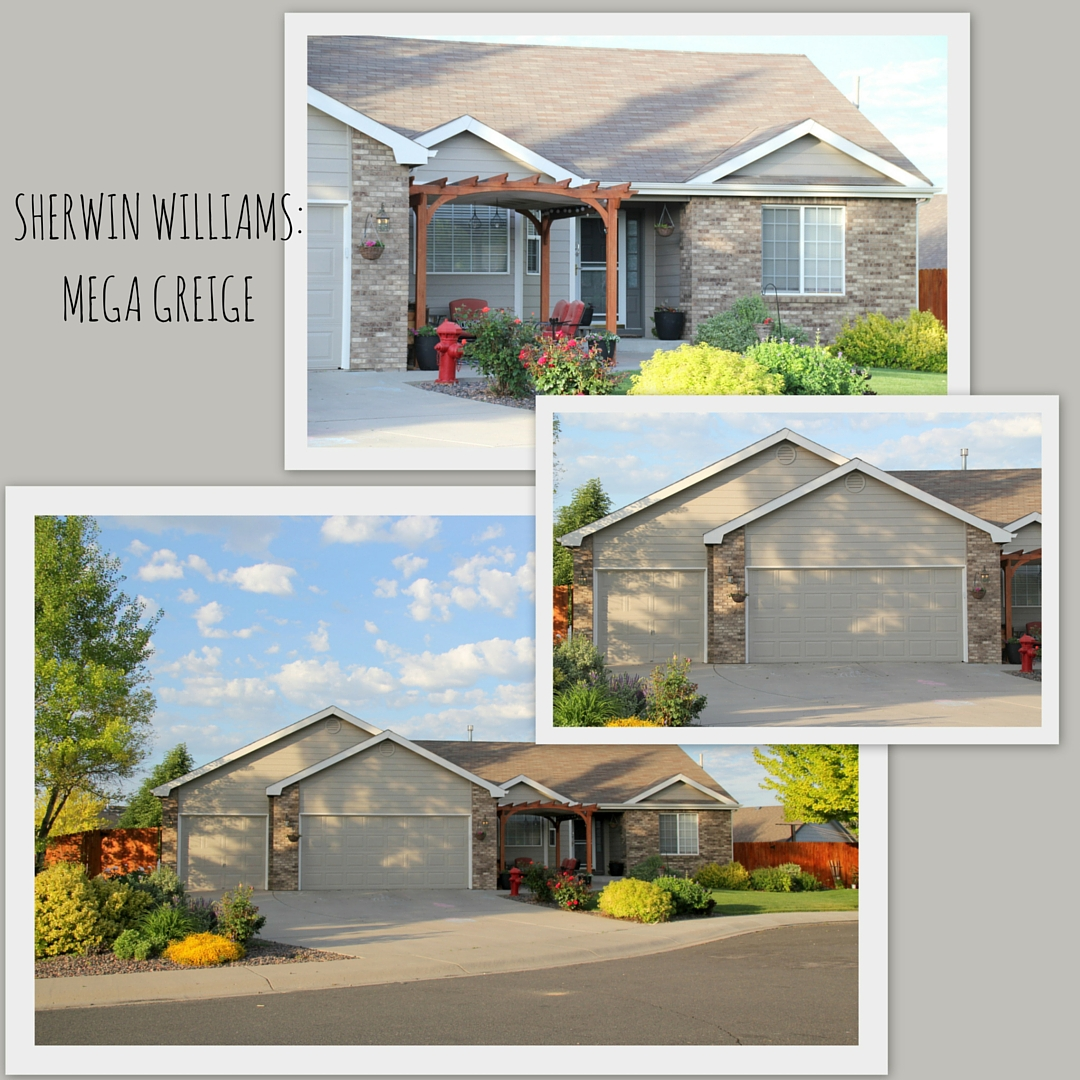 Sherwin Williams Mega Greige Exterior House Paint