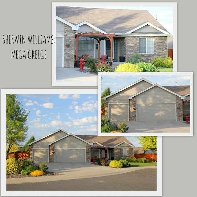 Design with altitude sherwin williams mega greige exterior house paint - Sherwin williams exterior paint examples style ...