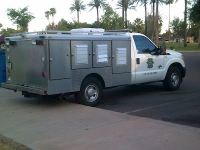 Maricopa County Animal Care and Control Truck