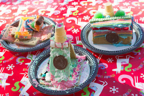 how to host a graham cracker house making party- super easy and affordable!