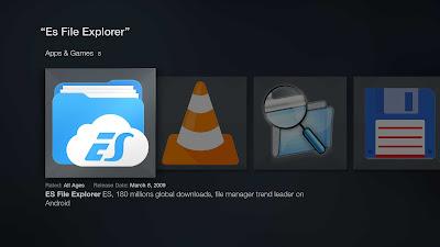 Open the downloaded ES Explorer