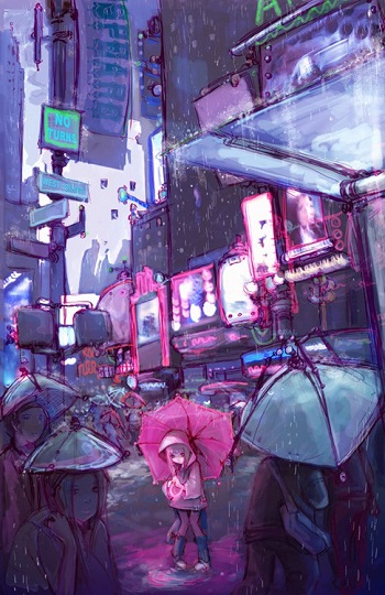 Camilla D'errico | creative emotional drawings, sad cyberpunk pics | imagenes tristes lindas | dessins
