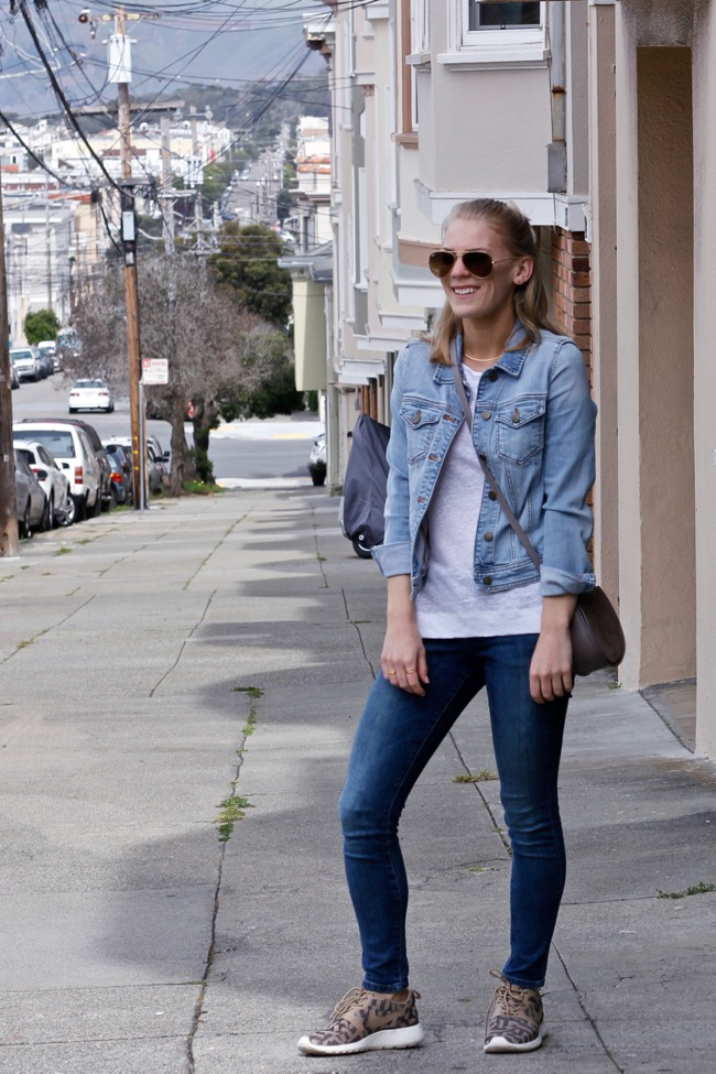 Shae Roderick, Double Denim, outfit, look, style, San Francisco