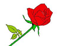 Resultado de imagen para rosa animada