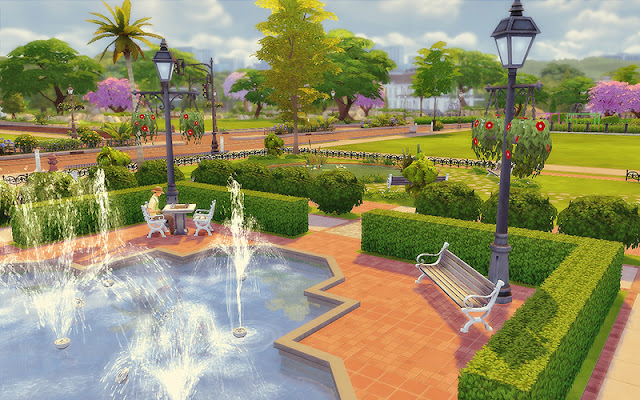Sims 4 Newcrest National Park