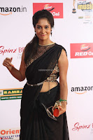 Sindhu looks fabulous in Black Saree designer choli at Mirchi Music Awards South 2017 ~  Exclusive Celebrities Galleries 064.JPG
