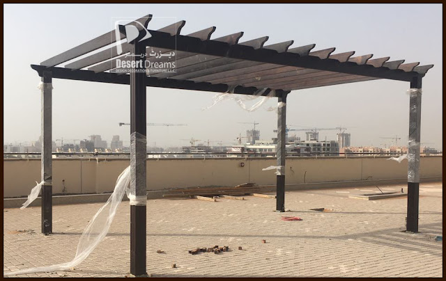 Manufacturer and Install Wooden Pergola in UAE