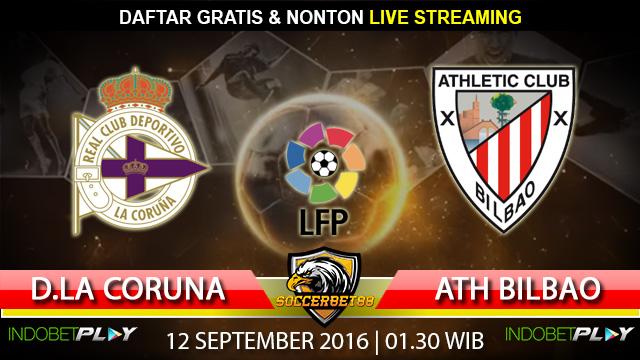 Prediksi D. La Coruna vs Ath. Bilbao 12 September 2016 (Liga Spanyol)