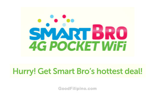 Smart Bro Summer Sale 4G Pocket Wi-Fi