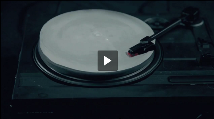 This Is The Most Amazing Idea Ever: Record Disk Made Of Ice!