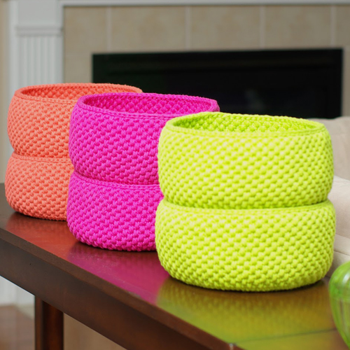 Loving... Crochet Baskets - Free Pattern
