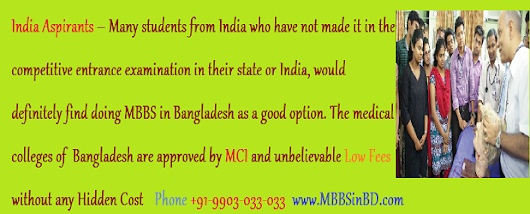 Medical Study in Bangladesh - Low Fees MBBS Admission in Bangladesh