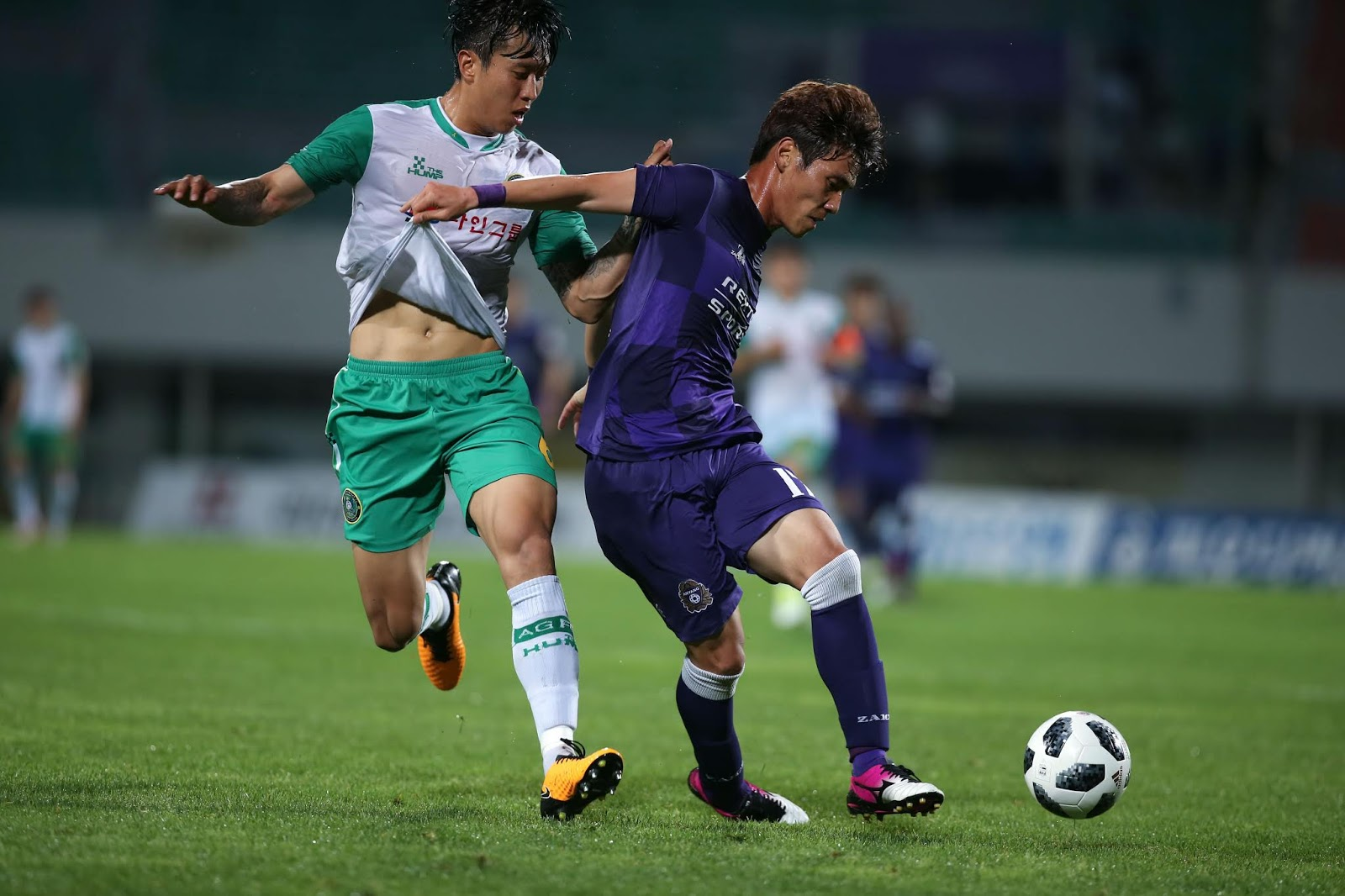 Preview: Ansan Greeners Vs Asan Mugunghwa K League 2 Round 18