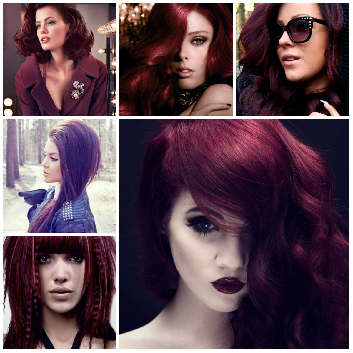 Burgundy Hair Color Ideas For 2016 In Malaysia