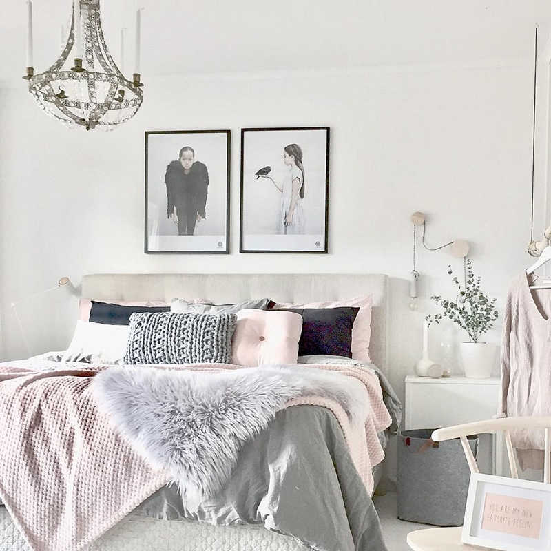 Grey Pink Trendy Home Decor 1000 Ideas About Grey Interior: Mulher Virtuosa: Design Escandinavo