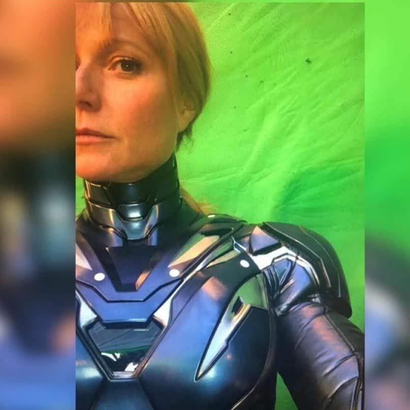 Gwyneth Paltrow Pepper Potts Resgate