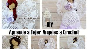 Aprende a tejer los ángeles más hermosos a crochet / DIY