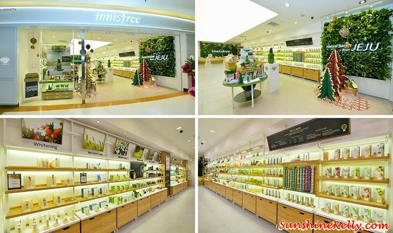 innisfree Malaysia, innisfree Sunway Pyramid, innisfree, korean cosmetics, korean beauty, k beauty, innisfree jeju island, innisfree Green Tea Seed Serum, innisfree Super Volcanic Pore Clay Mask, innisfree Eco Science White 'C' Pore Double Serum, innisfree Eco Science Wrinkle Spot Essence, innisfree green tea