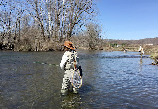 2 flygirls april 2016 for Women s fly fishing gear