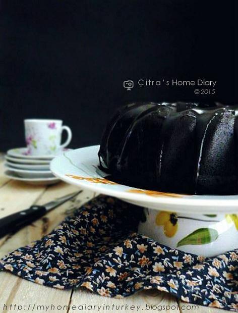 Steam Moist Chocolate Cake Recipe