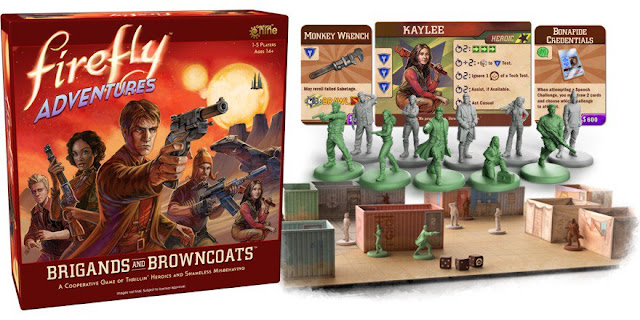Gale Force Nine: Firefly Adventures: Brigands & Browncoats - Tabletop Miniature Game