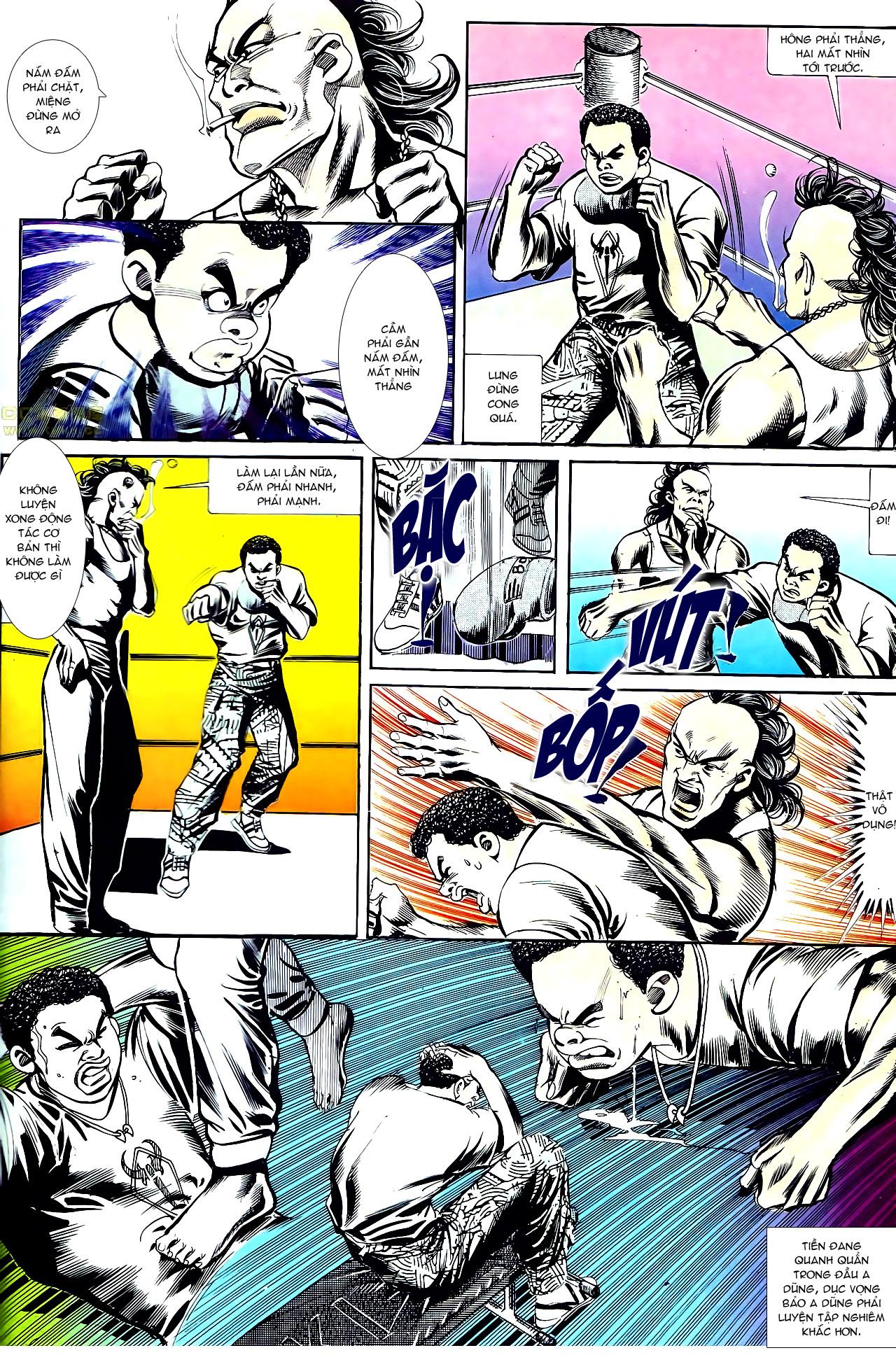 Người Trong Giang Hồ chapter 152: trăng sáng chiêm đông trang 23