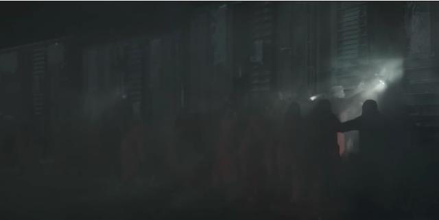 the mist train scene