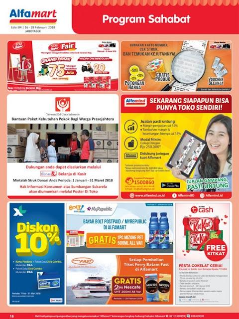 Katalog ALFAMART Promo ALFAMART Terbaru Periode 16 - 28 Februari 2018