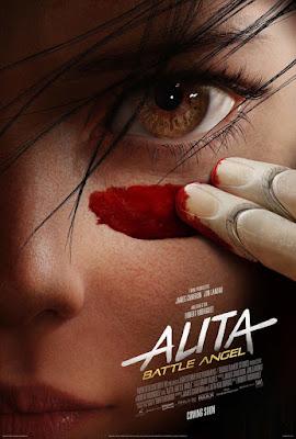 Alita Battle Angel Rosa Salazar Movie Poster 1