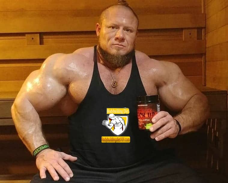 Bodybuilding with protein and whey protein powder