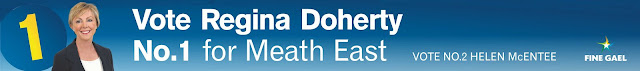 Vote Regina Doherty Number 1 Meath East