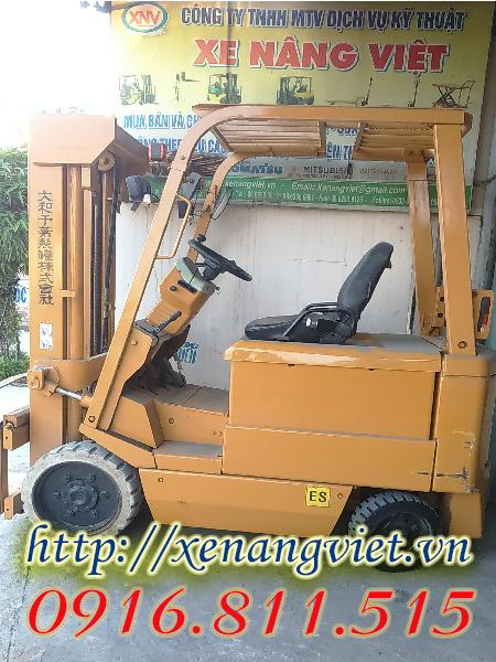 xe nâng điện komatsu 3 tấn
