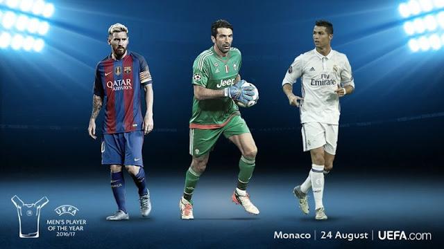 Kandidat Pemain Terbaik UEFA 2016/2017