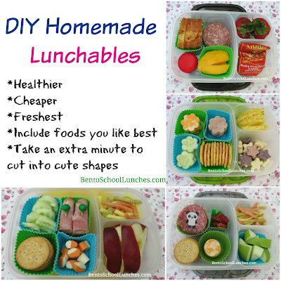 4 DIY Homemade Lunchables