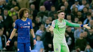 Chelsea goalkeeper Kepa refuses to leave pitch ahead of penalty shootout