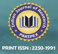 PIJR - PARIPEX  Indian Journal of Research