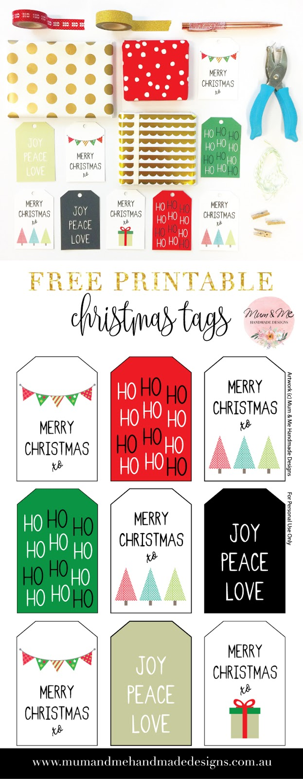 Generous merry christmas gift tags contemporary christmas ideas delighted personalized christmas gift tags free printables images negle Image collections