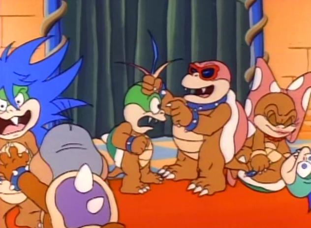 super mario bros 3 koopalings