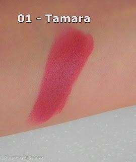 swatch del labial Tamara